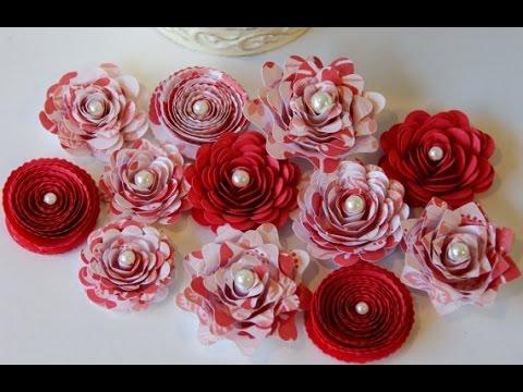 Сделать бумажные цветы своими руками 179