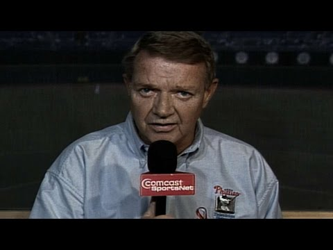 Harry Kalas welcomes us back to baseball after 9/11