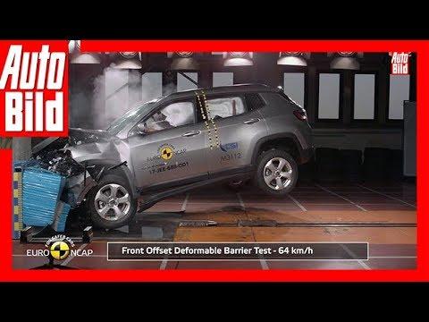 Crashtest Jeep Compass (2017)