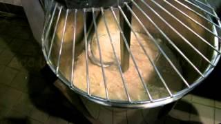Branca Restaurant Making Pizza Dough