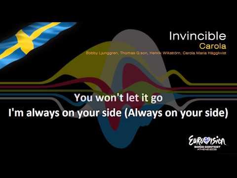 """Carola - """"Invincible"""" (Sweden) - [Instrumental version]"""