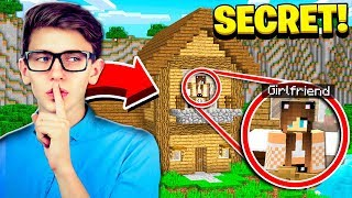 I FOUND MY BEST FRIEND'S SECRET WORLD in Minecraft!