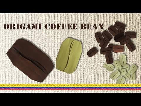 How to Make a Paper  Coffee Bean