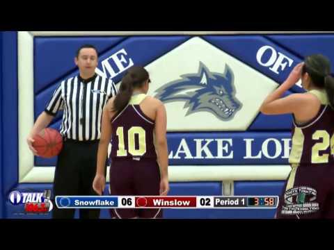 Winslow vs Snowflake Girls Basketball Full Game