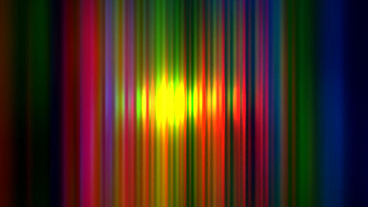 8K Useful Neon Show Strips - Overlay Effect for Video Editors 4320p