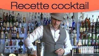 Cocktail : L'apple Martini