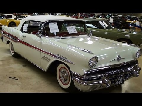 Rare 1957 Pontiac Bonneville Convertible Fuel-Injected 347 V8 315HP