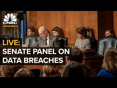 LIVE: Marriott CEO & Equifax CEO testify before U.S. Senate panel on data breach – March 7, 2019