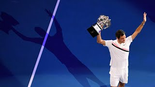Roger Federer became the first man to win 20 grand slam titles after victory over Croatian Marin Cilic in the final of the Australian Open. Cilic pushed Federer to ...