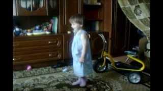 Василиса танцует под саундтрек сериала Castle