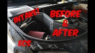 ECS Tuning Luft - Technik Intake Install - Audi A4 B7