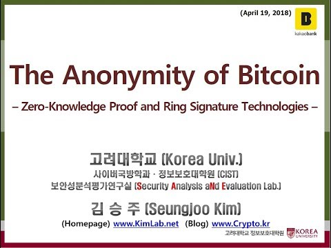 The Anonymity of Bitcoin  – Zero-Knowledge Proof and Ring Signature Technologies –