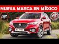 Nueva Marca De Coches, Mg (morris Garage), Todos Sus Modelos Para México
