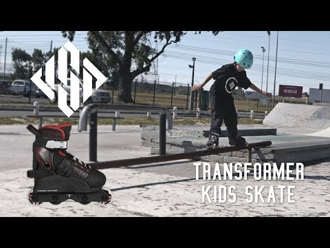 USD Transformer kids skate - trick inline skates for children
