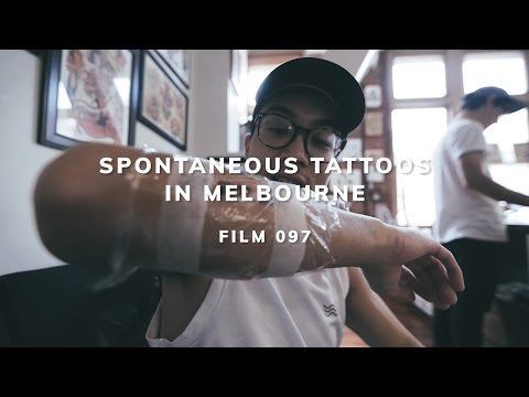 SPONTANEOUS TATTOOS IN MELBOURNE
