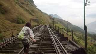 Paranapiacaba - Trecho da Linha Funicular até Grota Funda 22-09-2013