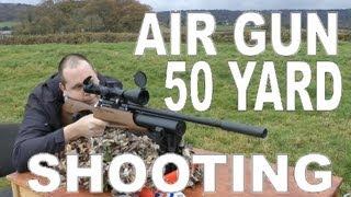 AIR RIFLE @ 50 YARDS - Daystate Air Wolf MCT Air Gun .177