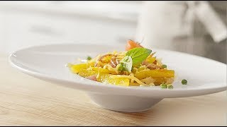 Итальянская паста Рецепт | Паста Примавера | Pasta Primavera Recipe Gefest TV