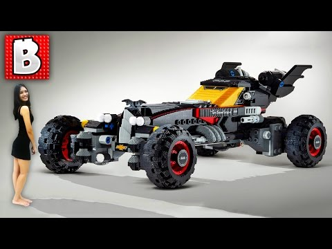 GIANT LEGO Batmobile!!! Lego Batman Movie Promo | LEGO News