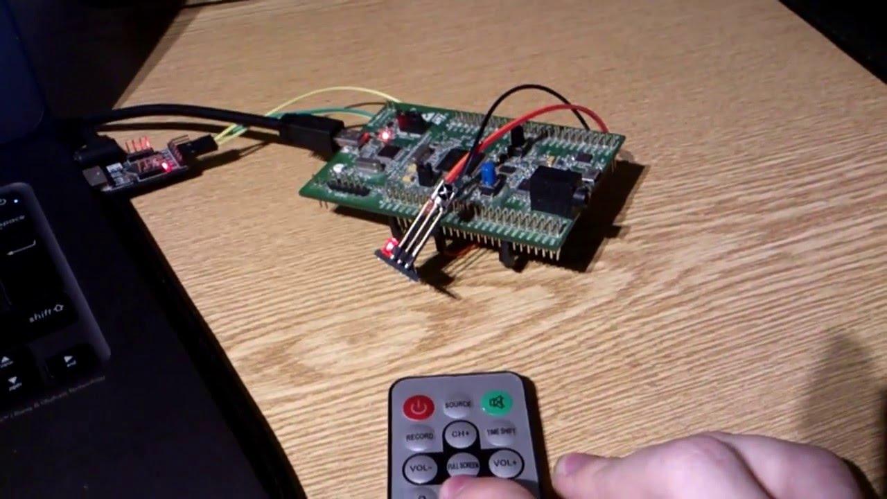 NEC IR Remote Decoding with STM32 DMA
