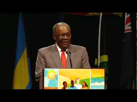 Opening Ceremony Keynote Speaker Hon. Hubert A. Minnis