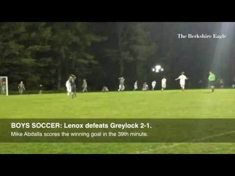 BOYS SOCCER: Lenoxs Mike Abdalla sends the Millionaires to victory with a goal in the 39th minute