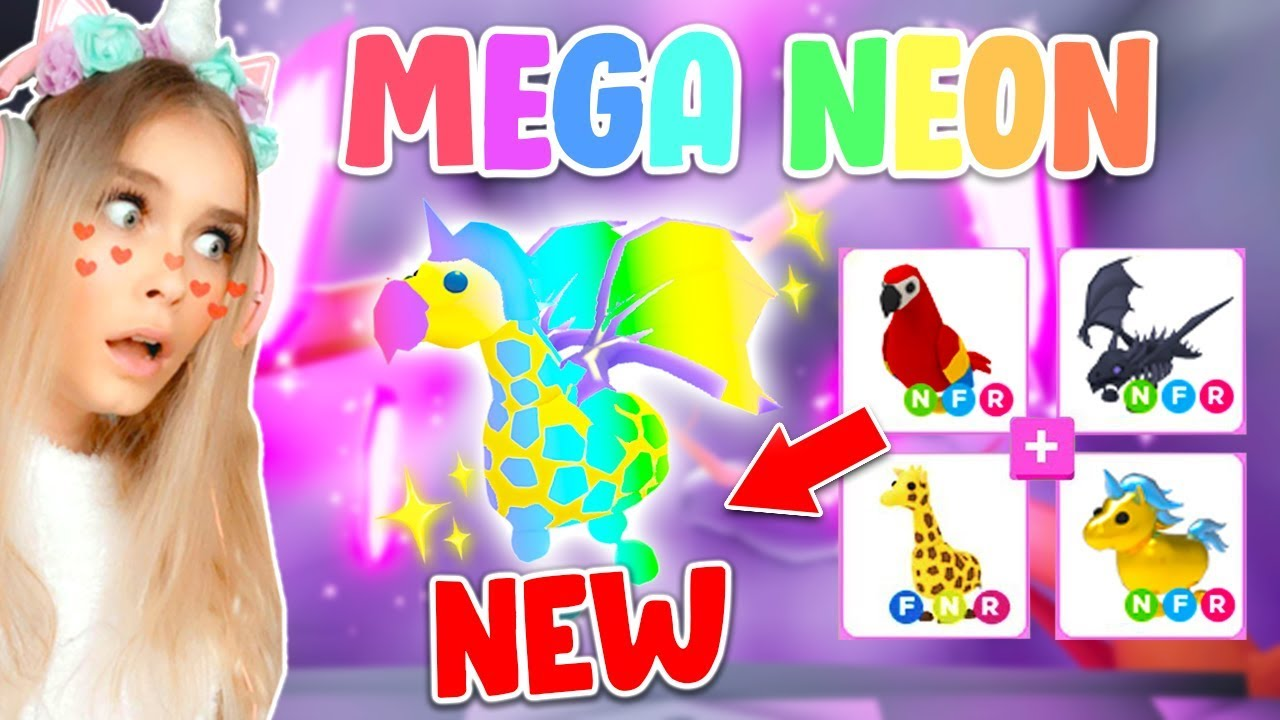 Making My First Mega Neon Pet In Adopt Me Roblox Youtube In 2020 Roblox Roblox Pictures Roblox Gifts