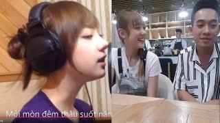 """Thiên thần Cover """"Bèo dạt mây trôi"""" đến Việt Nam ăn tối cùng Phở"""