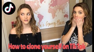 How to Clone yourself on TikTok