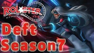 KT Rolster Deft Sivir ADC vs Jinx Patch 6.24
