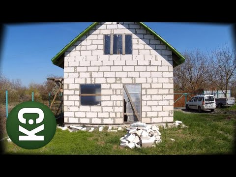 Коробка дома за 330 000 рублей после зимы