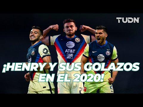 ¡GOLAZOS MAGISTRALES de Henry Martín en el 2020!   TUDN