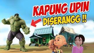 Kampung Upin ipin di Serang HULK ! ipin takut ! GTA Lucu
