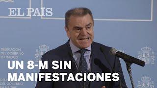 La Delegación del Gobierno en Madrid prohíbe todas las marchas para el 7 y 8M