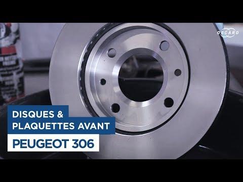 Changer les Disques et Plaquettes de frein avant - Peugeot 306