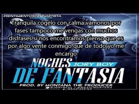 Noches de Fantasia - Jory Boy Letra (2014)