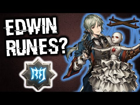 This Is Why You Should Go For Shield Runes On Edwin! | Brown Dust