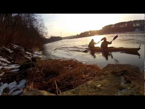 Kayaking season opening in Neris river