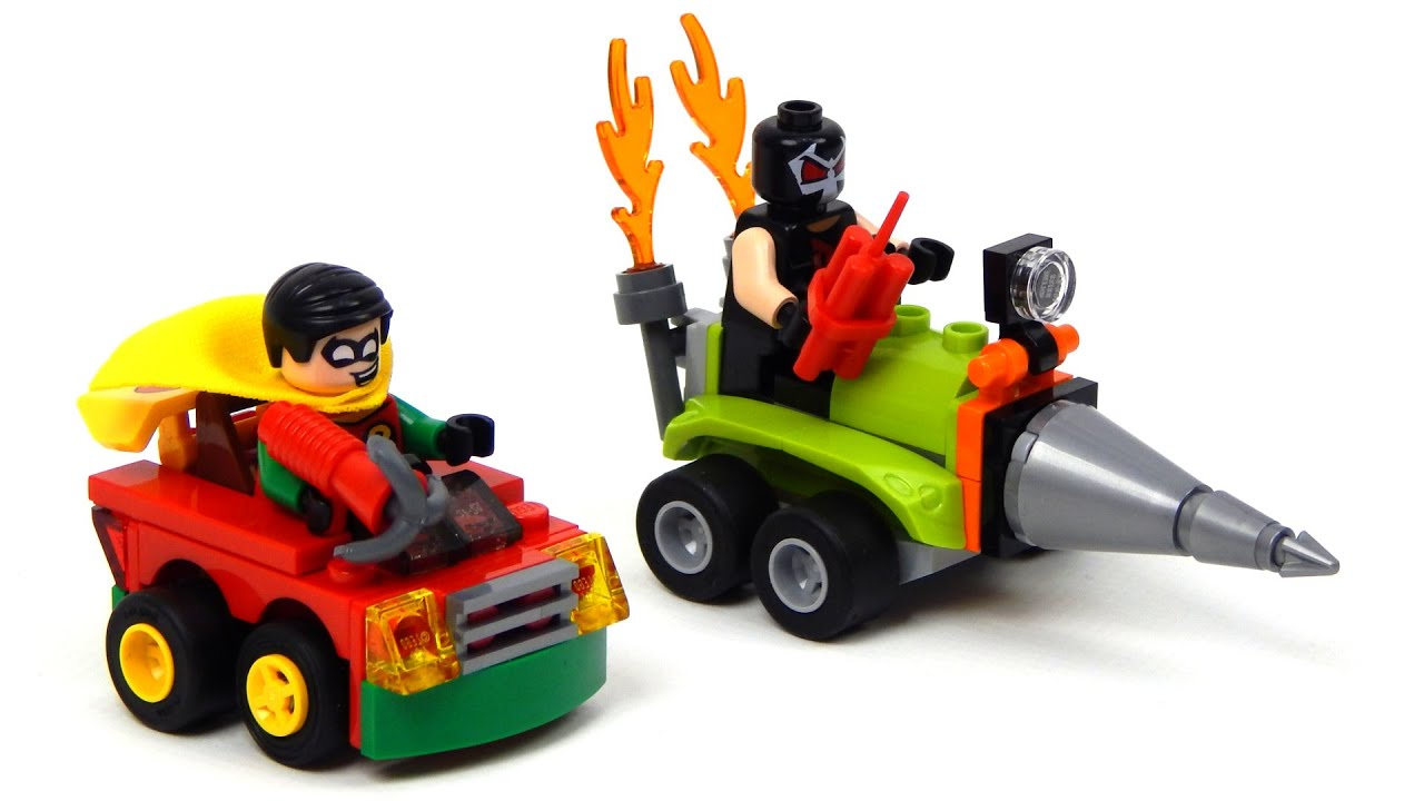 Lego DC Comics Super Heroes 76062 Mighty Micros: Robin™ vs. Bane™ Lego  Speed Build - YouTube