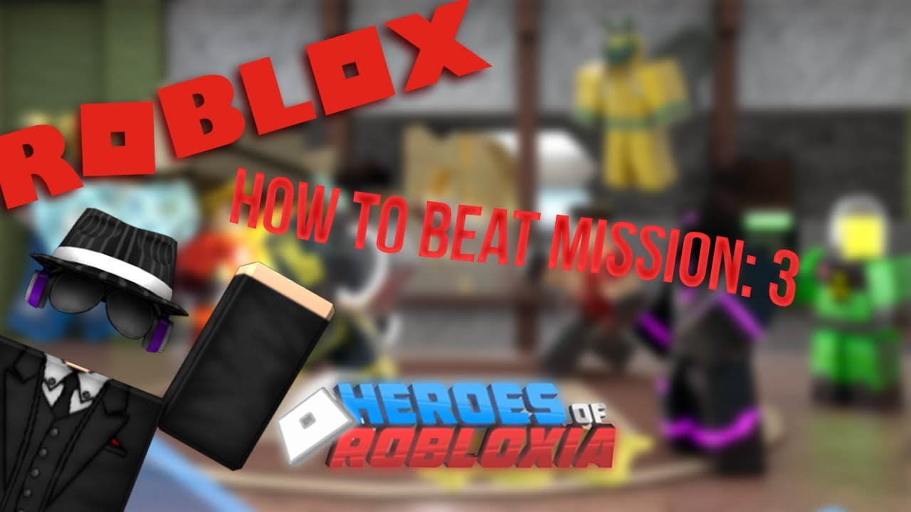 Roblox Heroes Of Robloxia Misson 3 หน มจ ตพ ช ตระเบ ด Roblox Heroes Of Robloxia Mission 3 Youtube