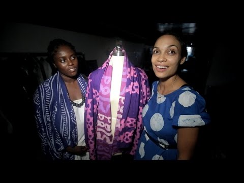 Actress Rosario Dawson's Mission for Sustainable Fashion | ABC News