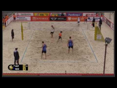 BECHVOLLEY- Huber A./Hörl vs.Varenhorst/Van Garderen-Moscow 3star world tour 2017