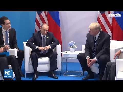 Trump and Putin meet on sidelines of G20 Summit