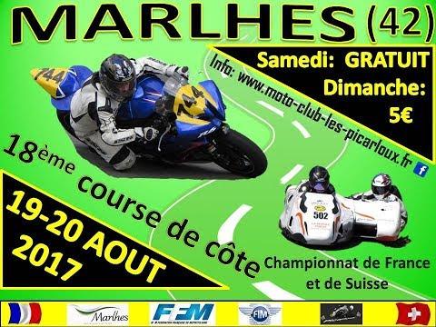Course de cote Marlhes 2017