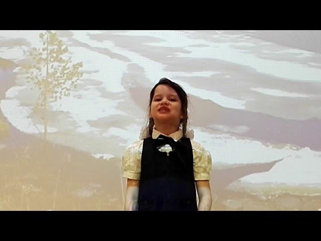 Изображение предпросмотра прочтения – ВалентинаСнеткова читает произведение «Весна» Ю.П.Морица