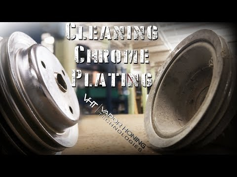 Cleaning and Polishing Chrome in Seconds with Vapor Blasting