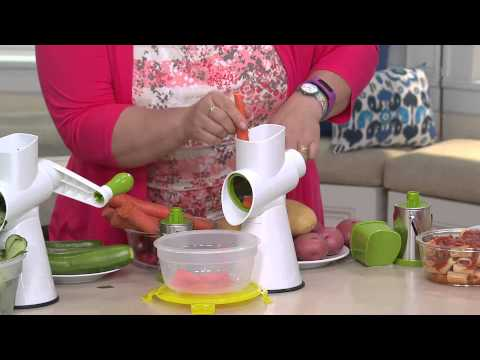 Kitchen Master Allinone Rotary Grater Slicer Doovi