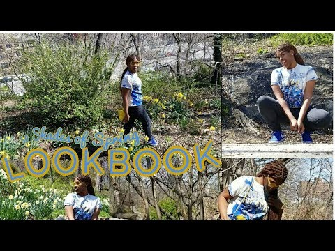 SHADES OF BLUE LOOKBOOK