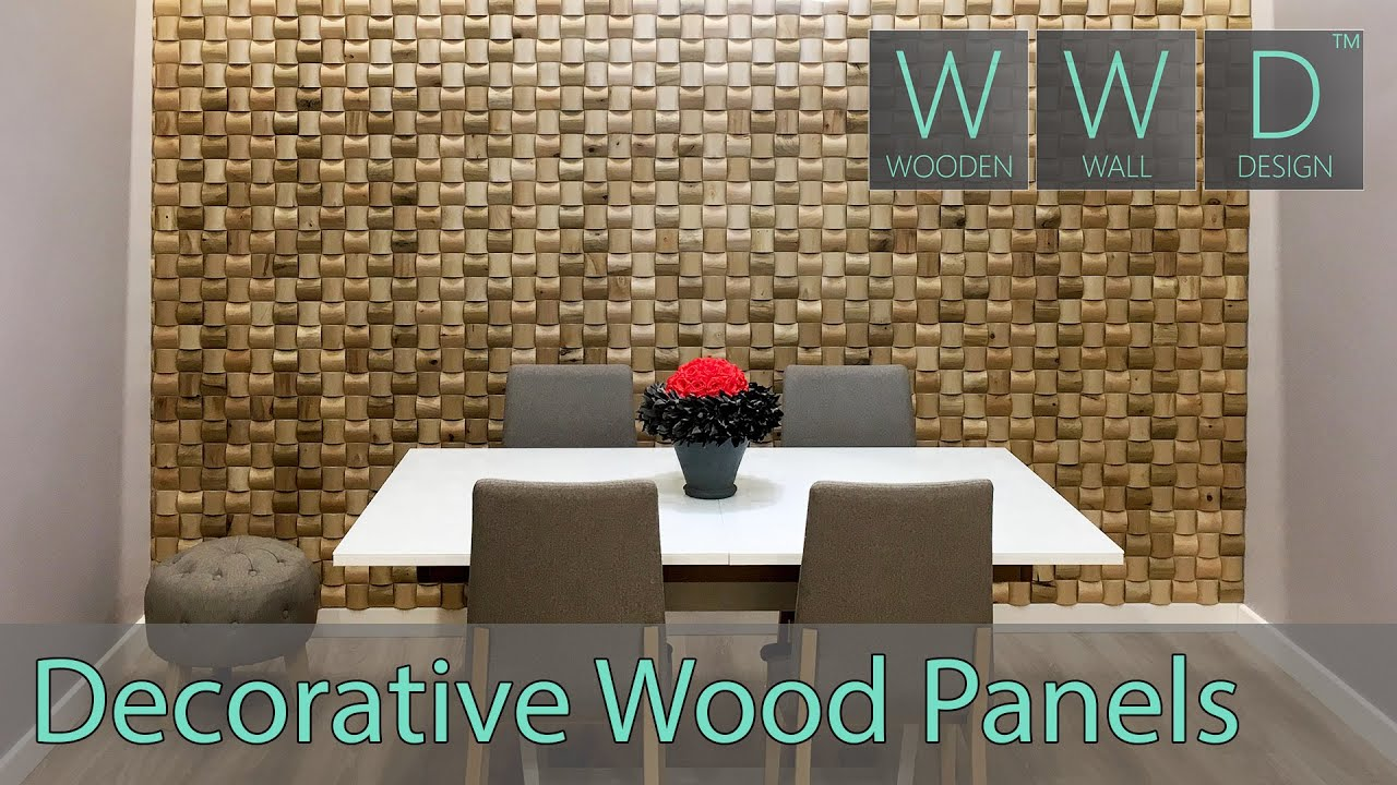 Decorative wall panels YouTube