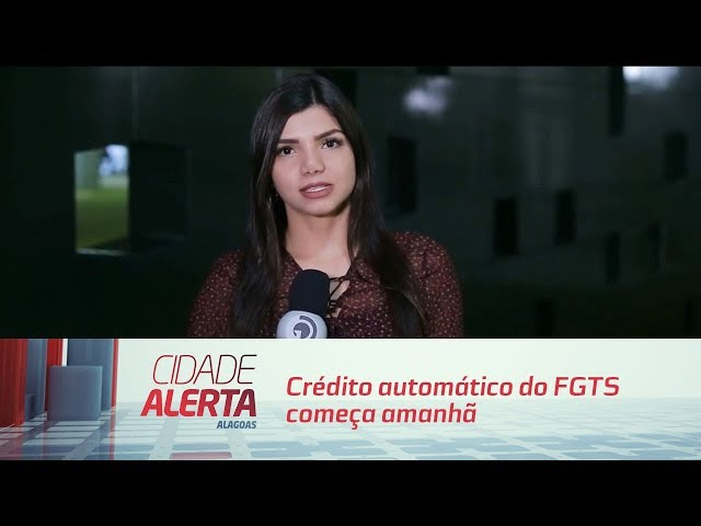 Crédito automático do FGTS começa amanhã